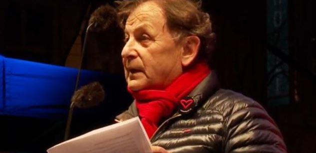 Občanská neposlušnost! pohrozil Havlův Žantovský na Václaváku