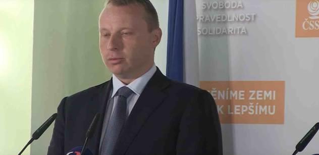 Kandidát ČSSD na ministra zahraničí Poche podpořil kvóty na imigranty: Neotáčejme se k uprchlíkům zády, měli bychom je v ČR přijmout a poskytnout jim prostor pro nový život