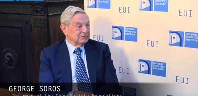 Soros není zlý! Přesvědčuje Český rozhlas