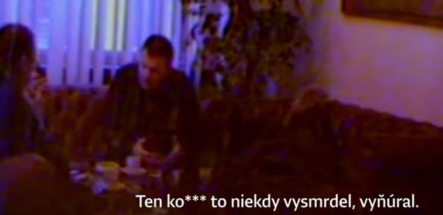"""""""Mu měl dát půlku prachů, ty kokot. I Fica oholil, do pí*i!"""" Slovenskem běsní další skandál. Tajná videonahrávka ministra financí. Tady ji máte"""