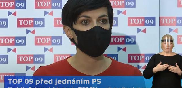 Pekarová Adamová (TOP 09): A kde máte ty úspory? Mohla bych je vidět?