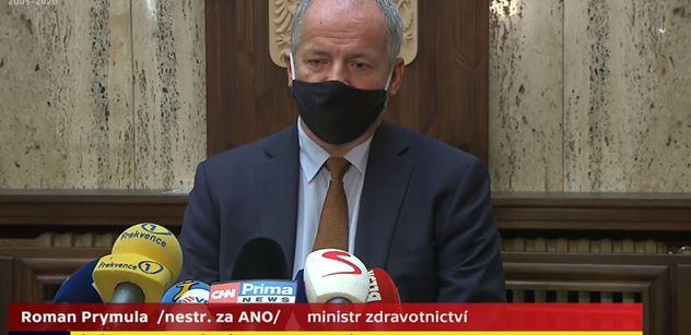 Petice: Nechceme profesora Romana Prymulu ve funkci ministra zdravotnictví