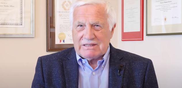 Václav Klaus opět prezidentem? Neřekl ne. A výprask Prymuly