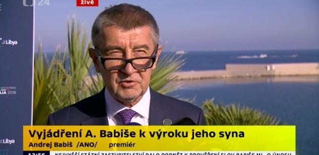 Premiér Babiš: Natáčet psychicky nemocného člověka, tajně a tímto způsobem, je odporné a hnusné