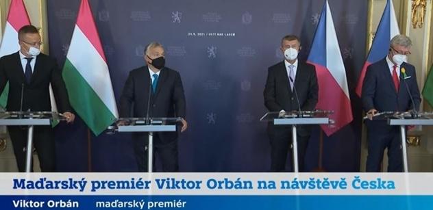 """""""I kalhoty nám EU sebere. Zabráníme tomu."""" Orbán bez milosti. Děkoval Babišovi"""