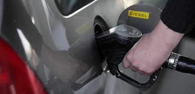 Meziroční pokles cen potravin a pohonných hmot pokračoval