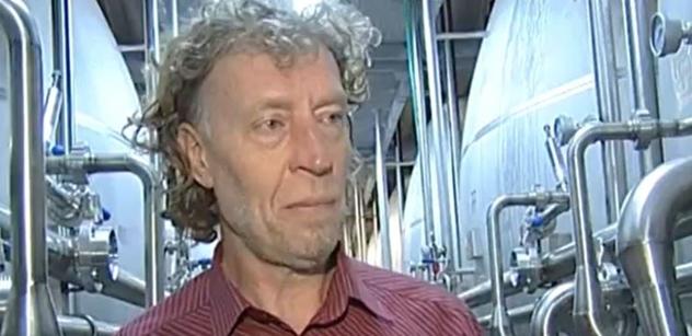 Pivovarník Bernard: Politika je jen tupý boj o moc. Nemám na to žaludek