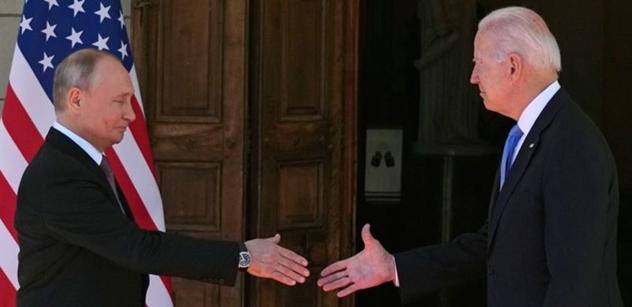 Průlom? Biden a Putin v Ženevě. První výstupy