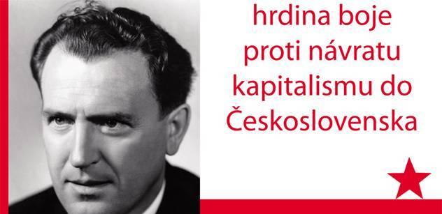 Mišičák (KSČ): Pohřbu Vasila Biľaka se účastnili skuteční komunisté