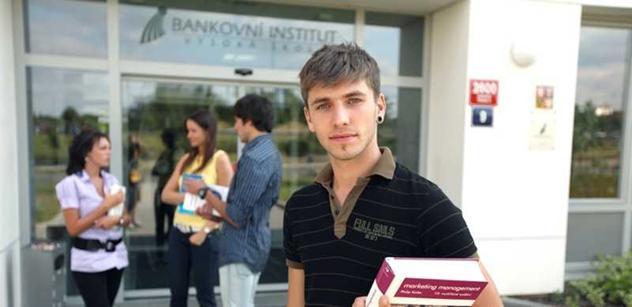 Bankovní institut vysoká škola: Studovat lze v každém věku
