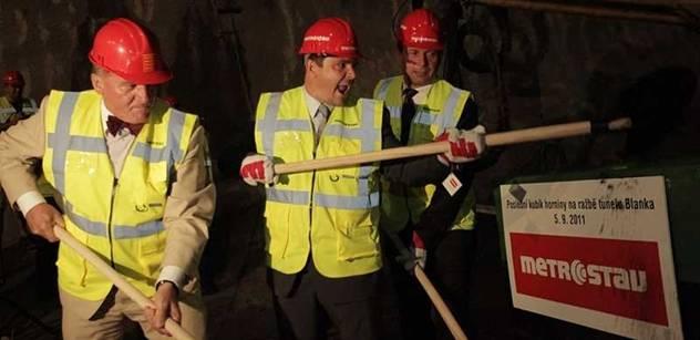 Praha zaplatí za Blanku do pátku. Tunel bude otevřen možná až koncem roku
