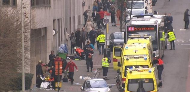 """Kopání do kameramana, obtěžování redaktorky. VIDEO ze slavné """"muslimské"""" čtvrti Bruselu"""