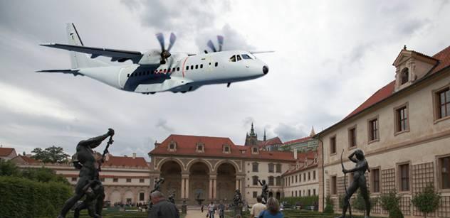 Obrana zveřejní výsledky testů ochrany letadel CASA