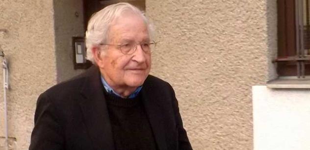 Daniel Veselý: Chomského výrok o postavení disidentů ve východní Evropě je trefou do černého
