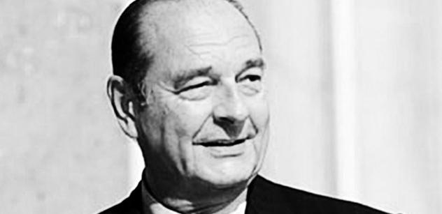 Jan Vítek:Jacques Chirac, vůdce Evropy proti válce v Iráku