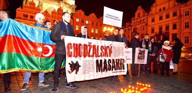 Adiš Mammadov: Tragédie v Chodžaly zatím zůstává bez trestu pro pachatele