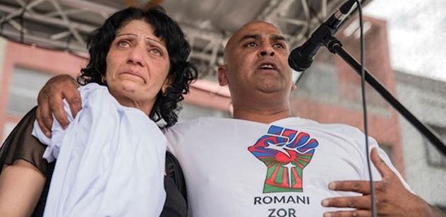 """FOTO To má být on. Ten prý okradl Romy sbírkou na pohřeb """"českého Floyda"""""""
