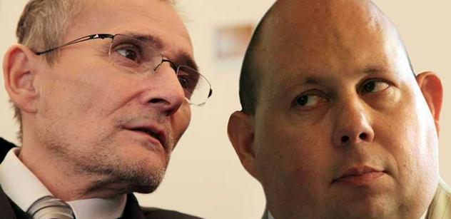 Tomáš Cikrt si tvrdě došlápl na vůdce postižených Krásu a jeho protest