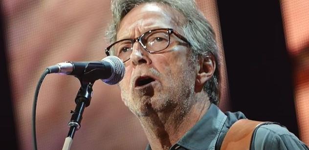 """""""Povinnost vakcíny? Takže já nehraju."""" Zpěvák Eric Clapton: Diskriminace. Mně bylo po očkování zle"""