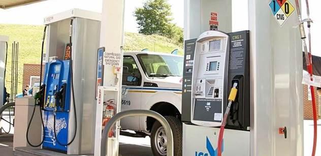 CNG využívá stále více motoristů