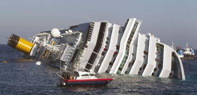 Nečasův Joch se zamyslel nad katastrofou lodi Costa Concordia