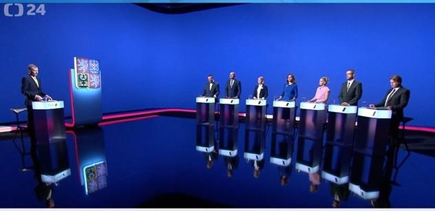"""""""Akorát se snažíte blejt špínu na premiéra"""". Čapí hnízdo v plzeňské debatě, Baxa s Bernardem vytočili lídryni ANO"""
