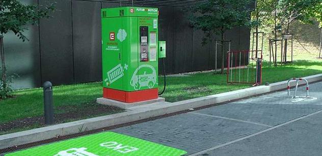 Ústí nad Labem má veřejnou dobíjecí stanici pro elektromobily