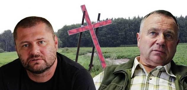 Autor křížů v Dobroníně: Dokud ty svině rudý budou žít, nebude klid