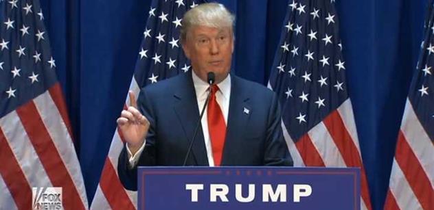 Kandidát na prezidenta USA Donald Trump pronesl tato slova o ruské intervenci v Sýrii i Bašáru Asadovi