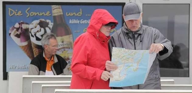 Panika v Sasku. Češi odstřelovali skálu