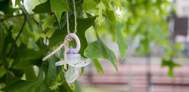 Praha 10 má strom Dudlíkovník, děti na něj mají věšet nepotřebný dudlík