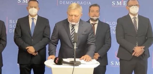 Robert Fico: Rozvrat Slovenska. Nezkušení blázni. Češi, pozor, koho pouštíte k moci
