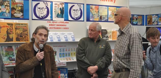 S Jestřábem v srdci. Foglarovci na pražském knižním veletrhu uctili svého učitele