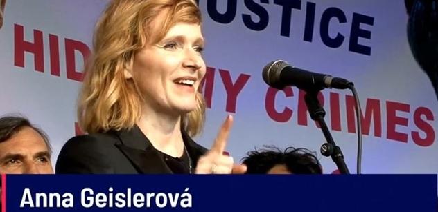 Aňa Geislerová: Třeba půjdu do politiky. Je důležitý jezdit z Prahy, mluvit s těmahle lidma