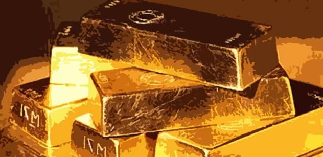 V tempu shromažďování zlata vede Rusko. Český poklad se opět zmenšil