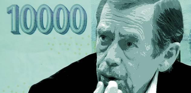 Budou Češi platit Havlem? Experti navrhují novou bankovku
