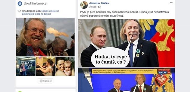 Také Robert Záruba se vyjádřil k Putinově medaili pro Jarka Nohavicu