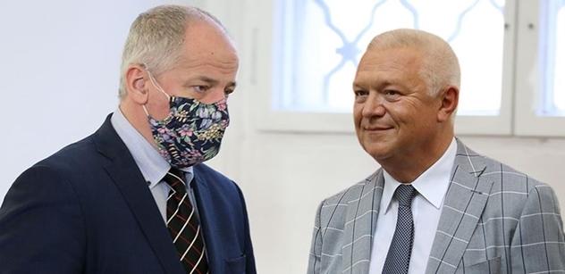 Slonková odhalila další jména z Faltýnkovy schůzky na Vyšehradě. Jeho oblíbený advokát ale účast popřel