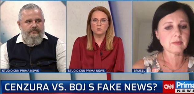 """Jáma pekel si přišla pro Věru Jourovou. """"Netlačte Facebook, aby mazal,"""" chce Dan Vávra. Babišova eurokomisařka se bránila"""