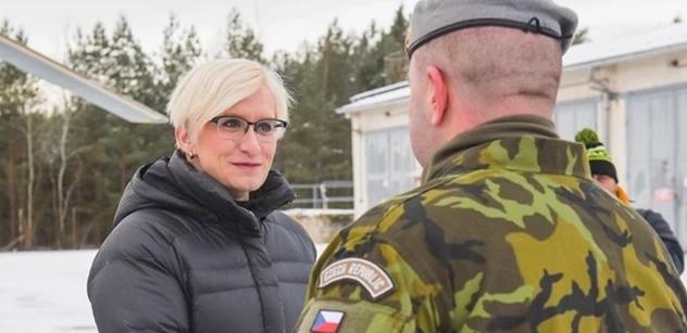 Ministryně Šlechtová: Pobočka vojenské SŠ v Sokolově se otevře už v září