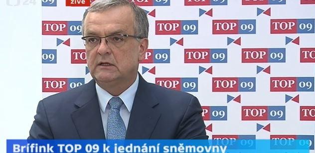 Kalousek a ženské pohlavní orgány. Debata, kterou lídr TOP 09 zakončil omluvou