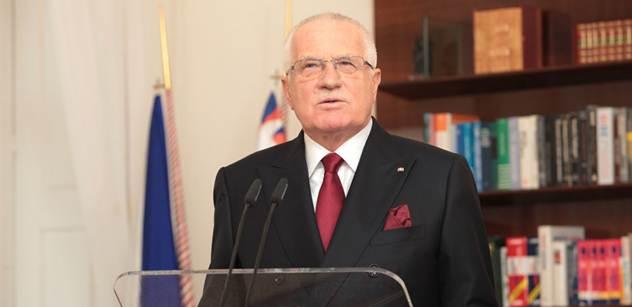 Politologové: Klausův projev byl optimistický, střízlivý, ale i slabý