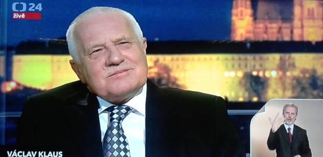 Václav Klaus: Bankovní unie je nebezpečný hazard