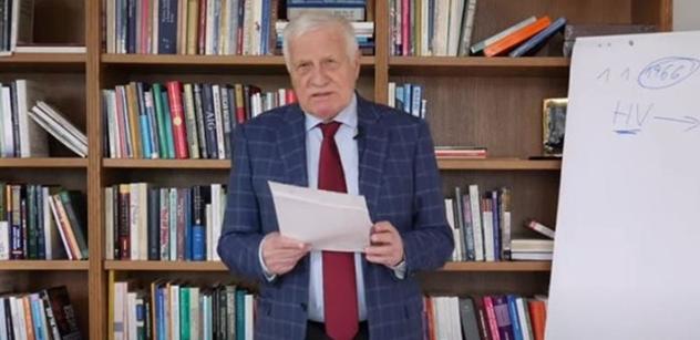 """Zmíněn Rychetský. Kauza """"Klausovy peníze do SSSR"""": Prý jinak"""
