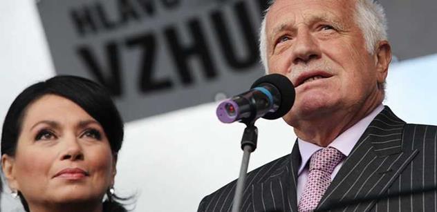 Klaus mladší: Otce by v europarlamentu trefil šlak. V politice vidím hlavně čičmundy, kteří si to vyseděli