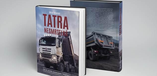 TATRA TRUCKS vydává novou publikaci s názvem Tatra nesmrtelná