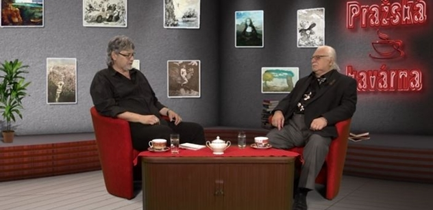 VIDEO Drsný výprask Sobotkovi i Babišovi. Umělec, profesor a Klausův přítel v Pražské kavárně sdělil zajímavost z minulosti Miloše Zemana