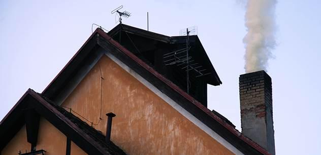 Praha chce zakázat topení uhlím ve starých kotlích a kamnech