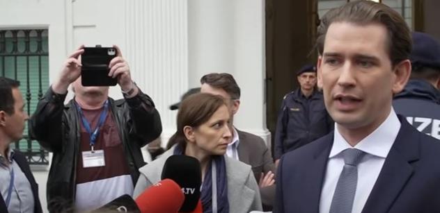 Sebastian Kurz rezignoval
