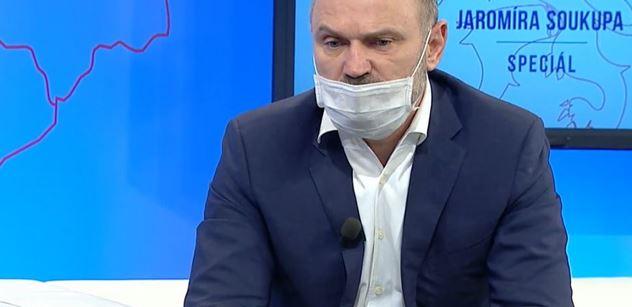 """,,Lžou vám. Není to jen tak."""" Ivan Langer u Soukupa šokoval občany, pokud jde o virus"""